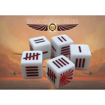 Warlord Games - Blood Red Skies - Japanese Blood Red Skies Dice