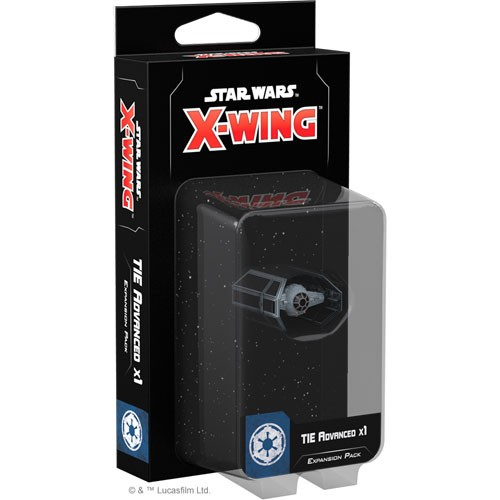 X-Wing - Imperial Forces - Tie Advanced Expansion Pack