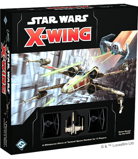 Fantasy Flight Games - Star Wars X-Wing - 2nd Edition Core Set