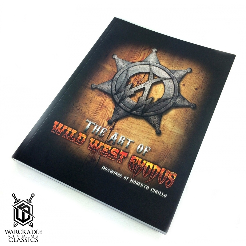 Wild West Exodus Concept Art Book