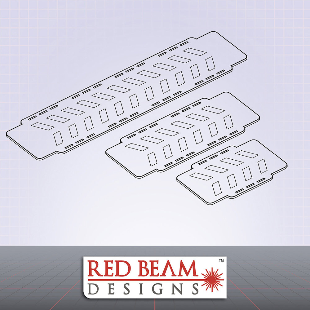 Complex Red - Bridge Set