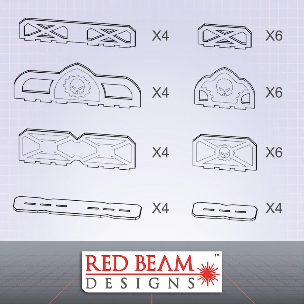 Complex Red - Barrier & Barricade Set