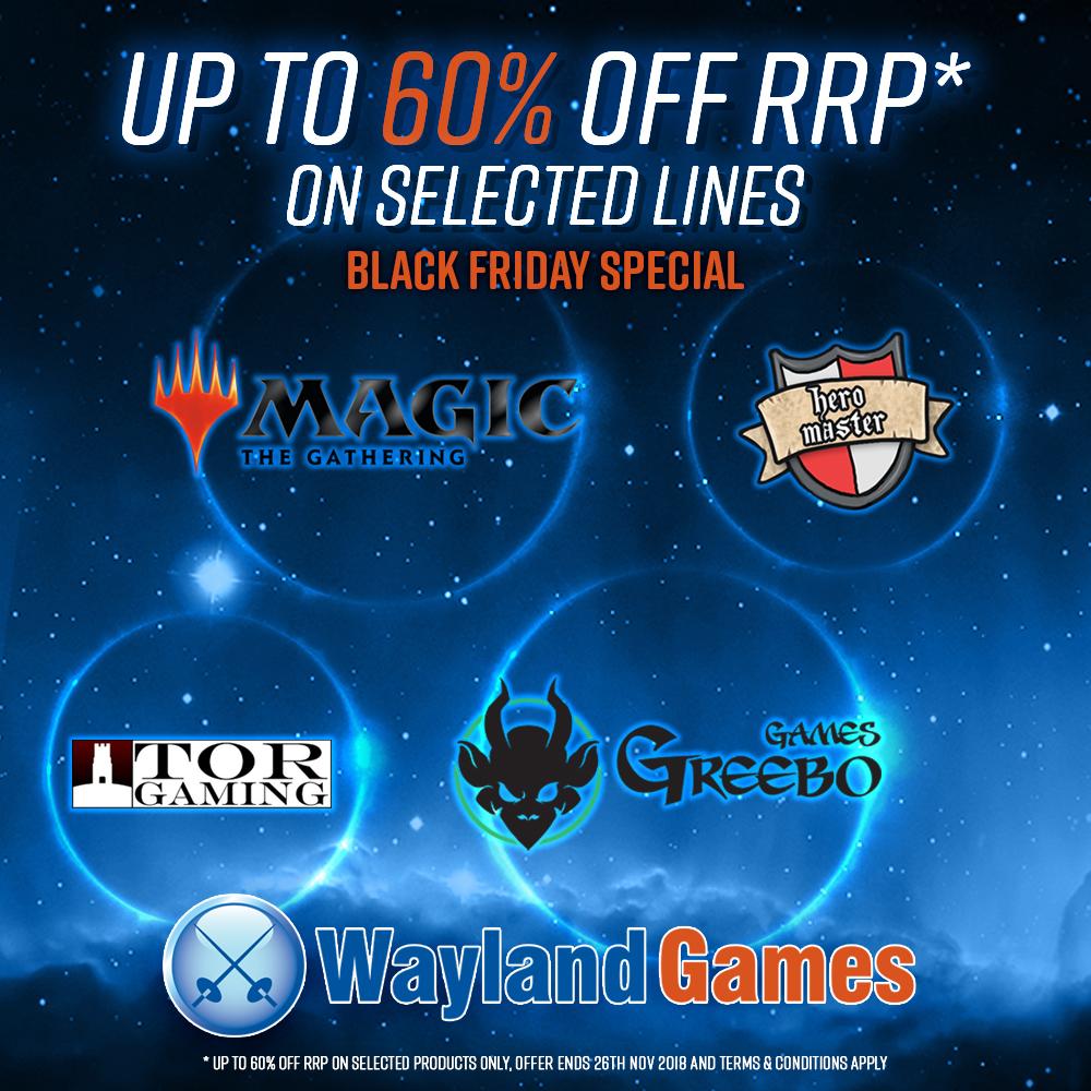 60% Off - Black Friday at Wayland Games