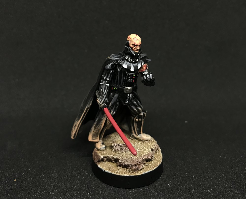 Forum Member - Themodalnodes - Battle Damaged Vader