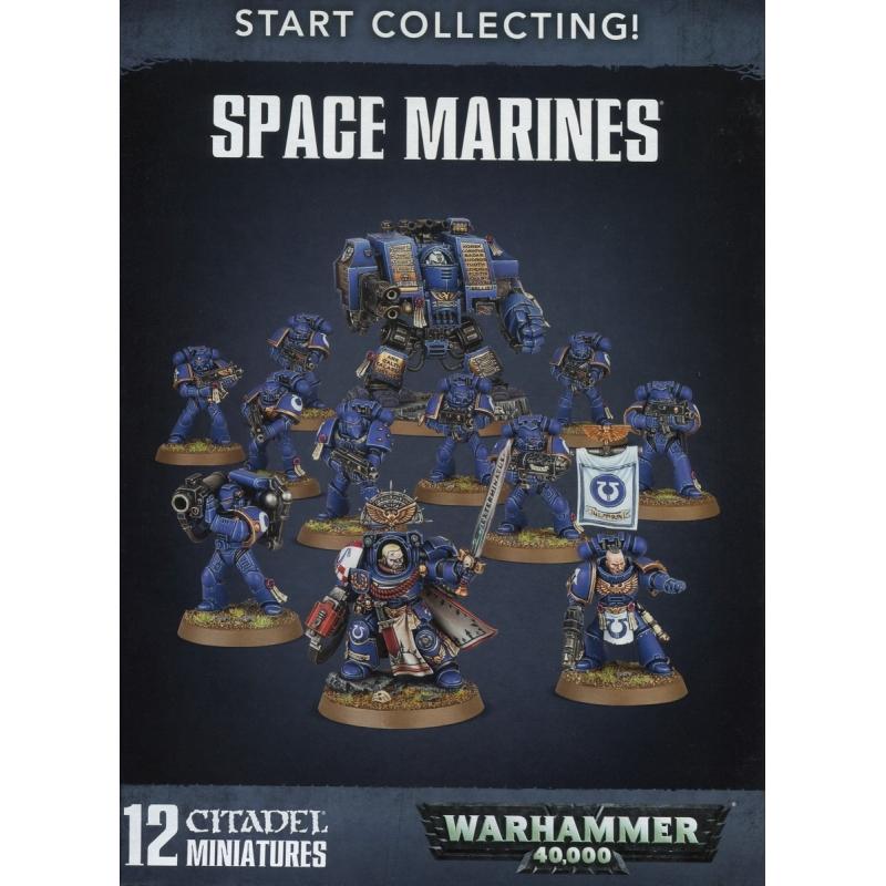 WH40k - Adeptus Astartes - Space Marines - Start Collecting! Space Marines