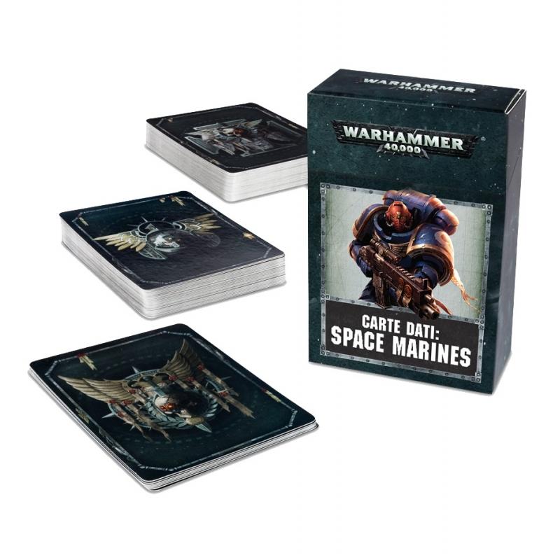 Warhammer 40,000 - Adeptus Astartes - Space Marines - Datacards: Space Marines