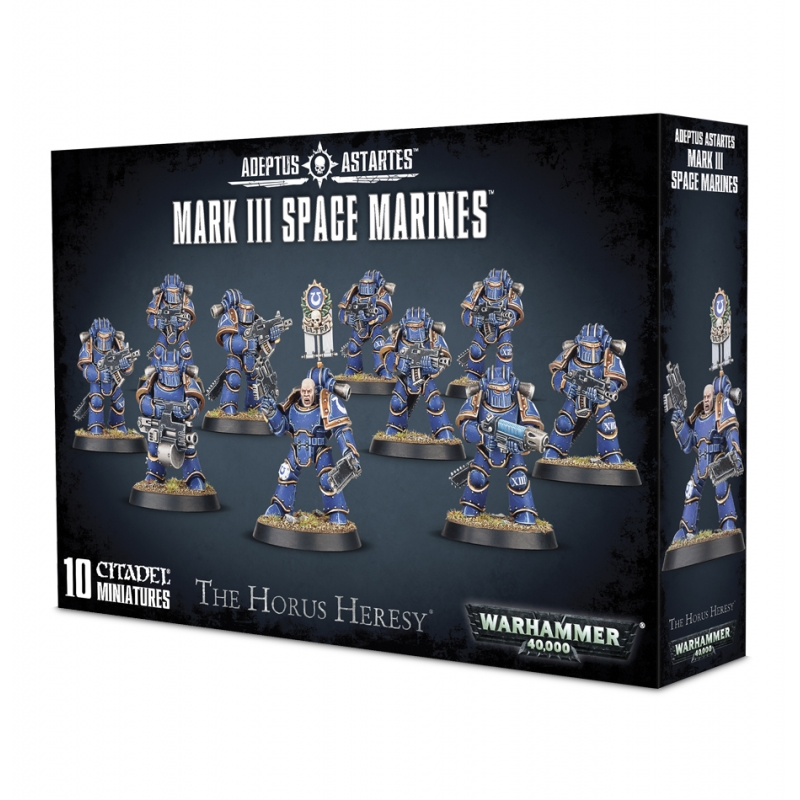 Warhammer 40k - Adeptus Astartes - Space Marines - Mark III 'Iron' Armour Space Marines