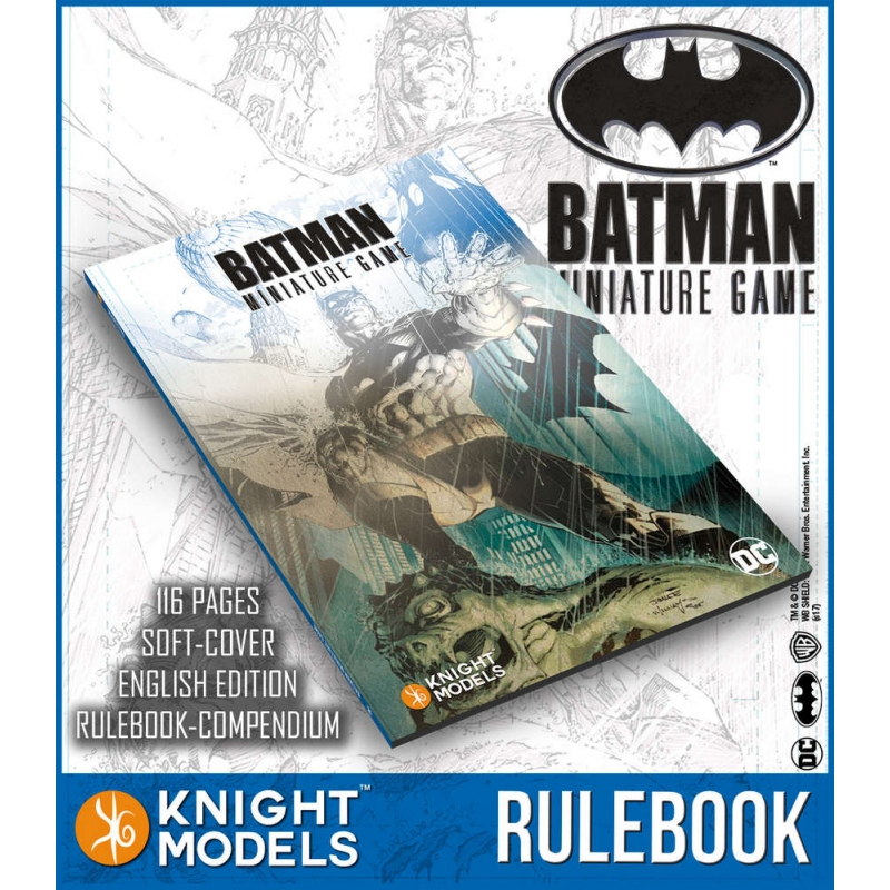 2nd Edition Batman Miniature Game Rulebook - English