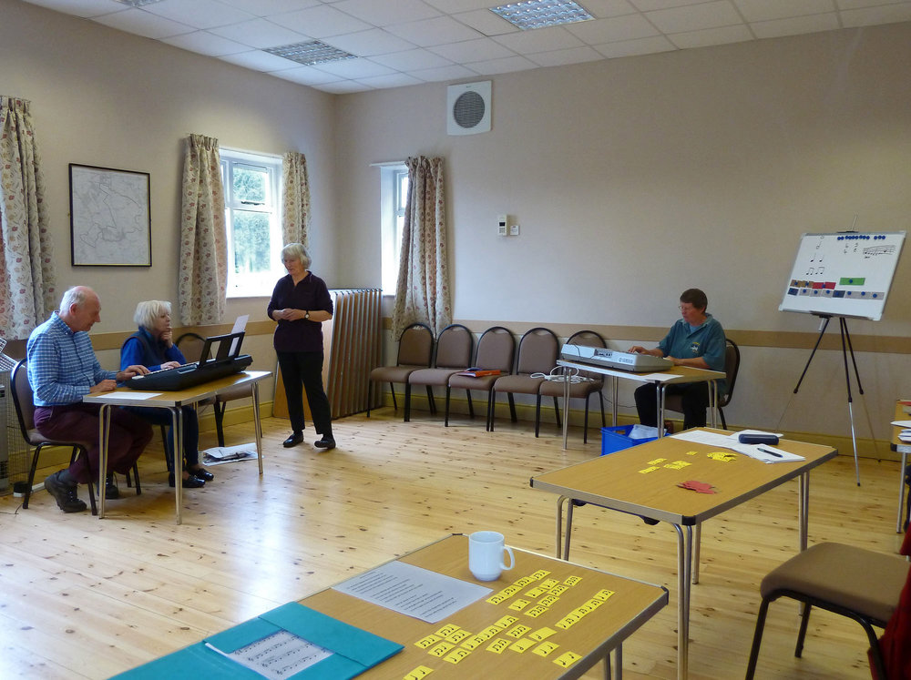 Music literacy course first session
