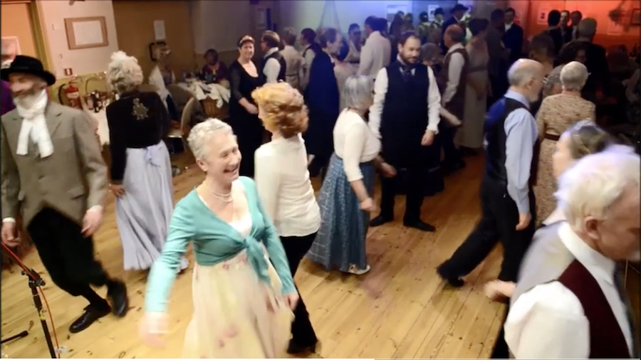 Dancing at the Regency Ball