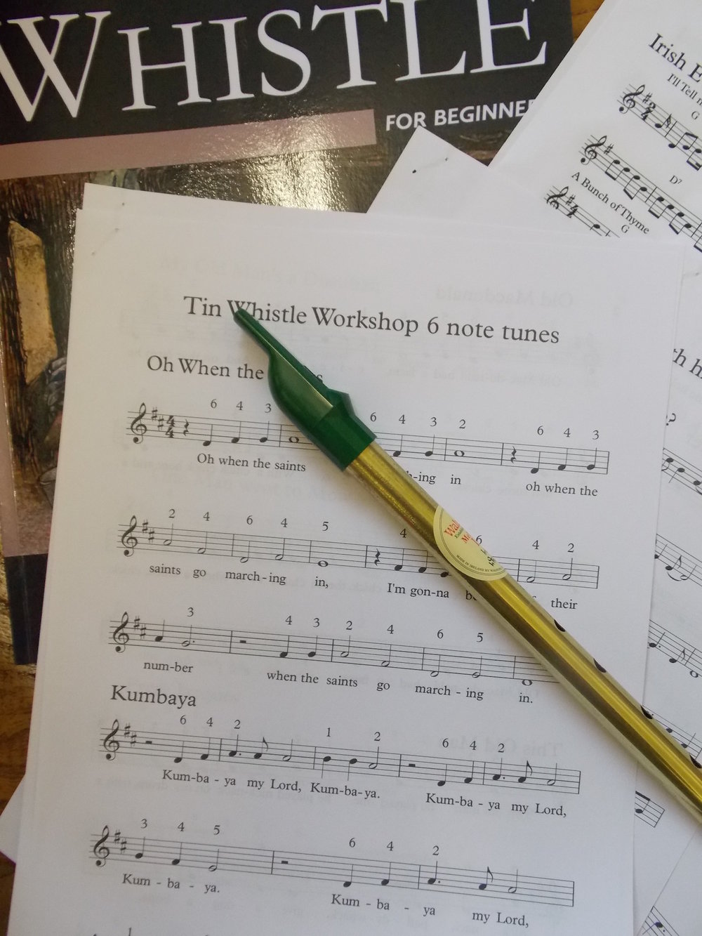 tin whistle workshop