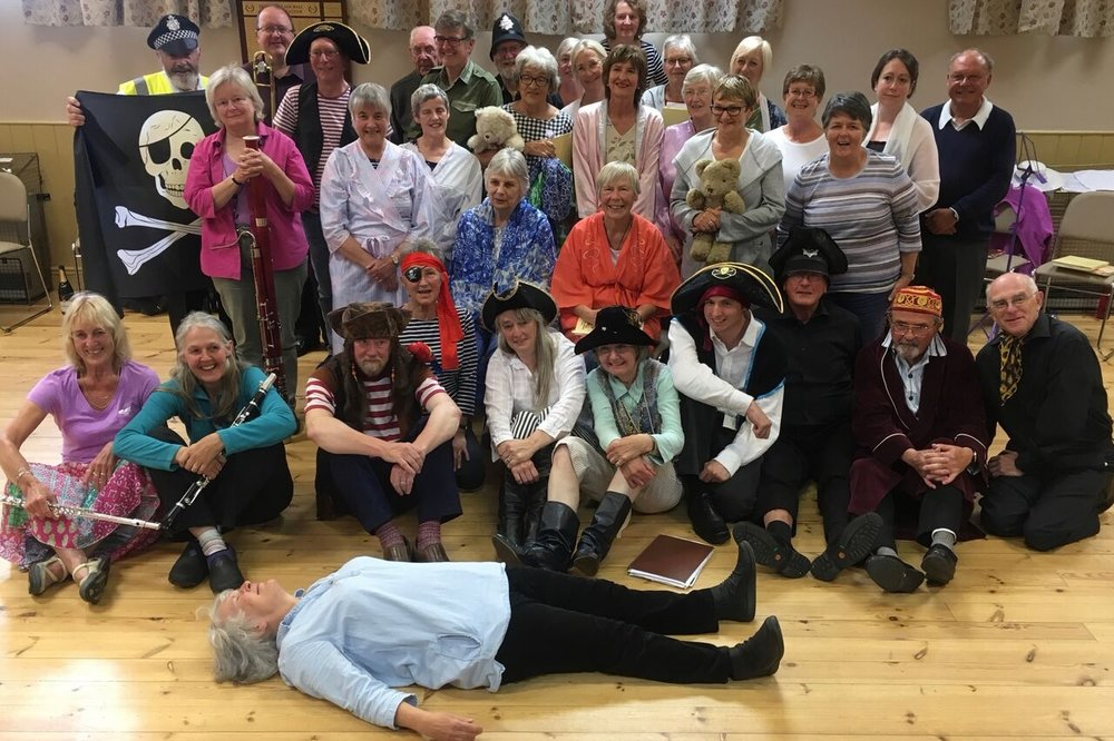 Pirates of penzance full cast group shot