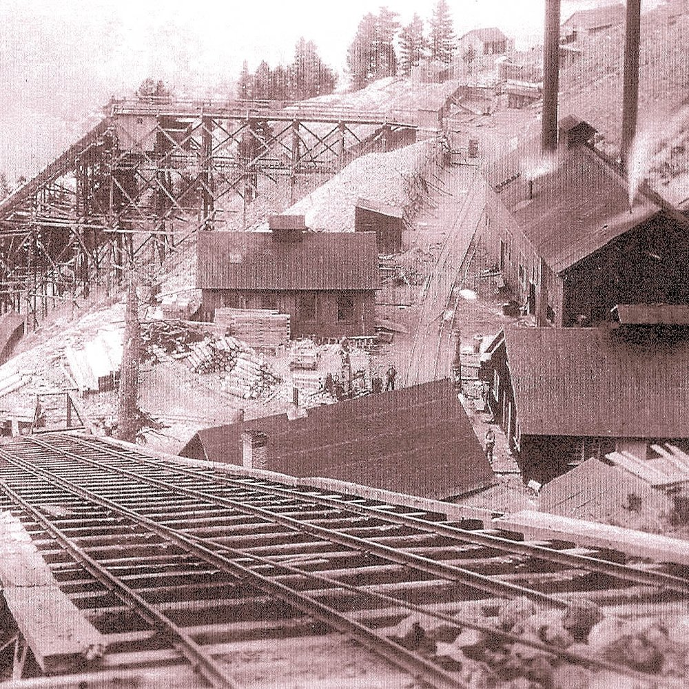 Albeta Tunnel at 700 ft Level Empire Mine C 1913