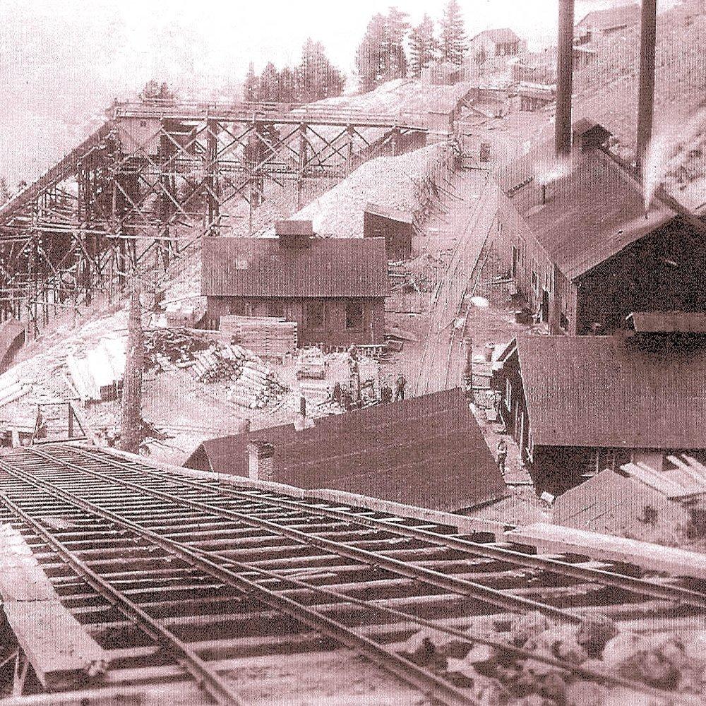 Albeta Tunnel at 700 ft Level Empire Mine C 1913