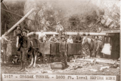 Cossak tunnel c.1917