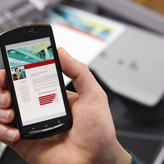 managed print services, managed print solutions mobile printing