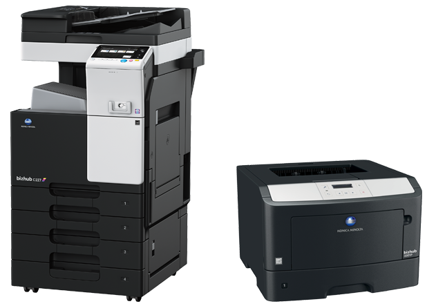 Workflow group range of copiers and printers