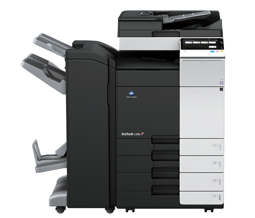 Konica Minolta Bizhub C258 Full range of Konica Minolta colour photocopier, copier leasing, printer leasing, photocopier hire, copier rental, lease copier or lease copiers