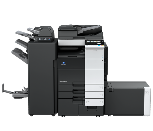 Konica Minolta Bizhub C458 Full range of Konica Minolta colour photocopier, copier leasing, printer leasing, photocopier hire, copier rental, lease copier or lease copiers