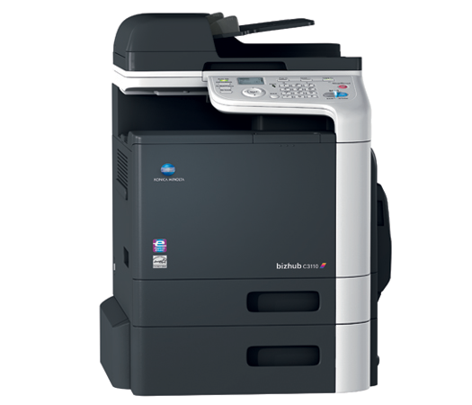 Konica Minolta Bizhub C3110 Full range of Konica Minolta colour photocopier, copier leasing, printer leasing, photocopier hire, copier rental, lease copier or lease copiers