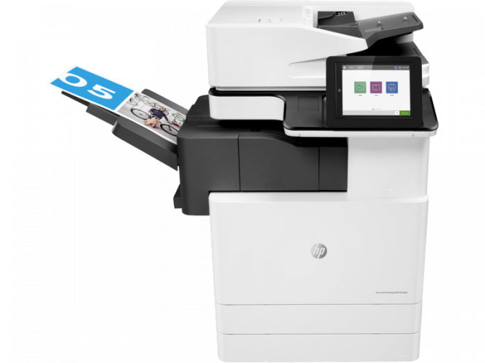 HP LaserJet E87640dn. Part of the full range of HP copiers and printers, HP photocopiers. HP laserjet photocopiers. Rent HP copier, rent HP printer or lease HP printer