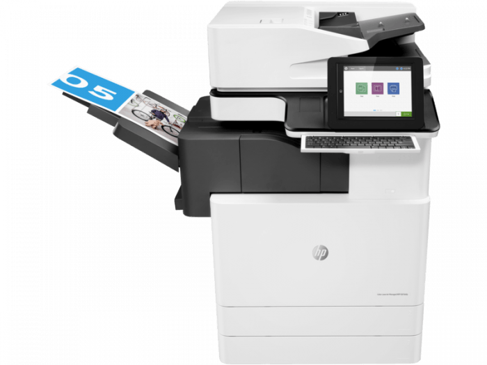 HP LaserJet E87640z. Full range of HP copiers and printers, HP laserjet photocopiers