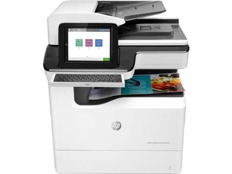 HP PageWide E77650z - HP PageWide photocopier. Part of the full range of HP copiers and printers, HP photocopier. Rent HP copier, rent HP printer or lease HP printer