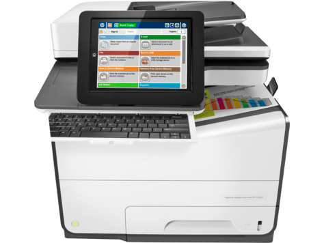 HP PageWide E58650z - HP PageWide photocopiers. Part of the full range of HP copiers and printers, HP photocopiers