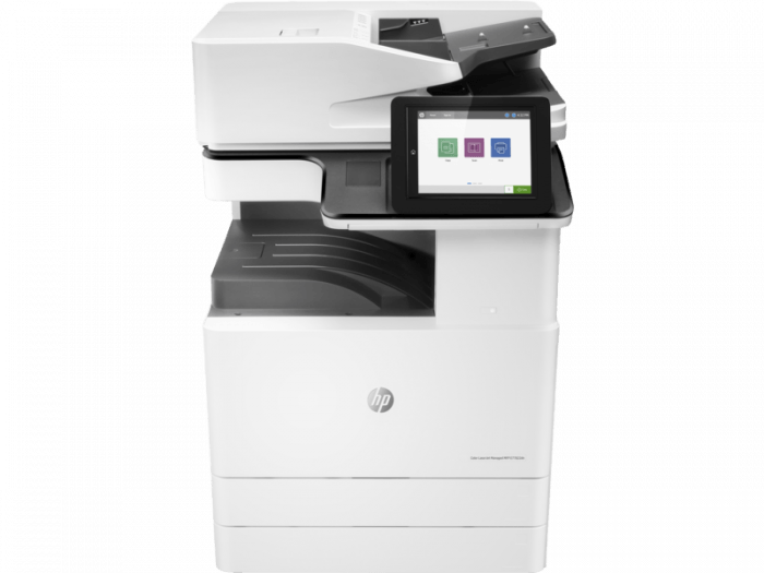 HP LaserJet E77822z. Part of the full range of HP copiers and printers, HP photocopiers. HP laserjet photocopier