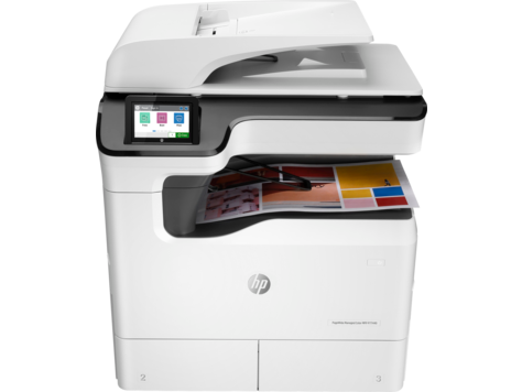 HP PageWide P77440dn - HP PageWide photocopier. Part of the full range of HP copiers and printers, HP photocopier. Rent HP copier, rent HP printer or lease HP printer