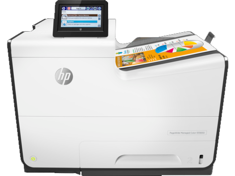 HP PageWide 556dn - HP PageWide photocopier. Part of the full range of HP copiers and printers, HP photocopiers. Rent HP copier, rent HP printer or lease HP printer