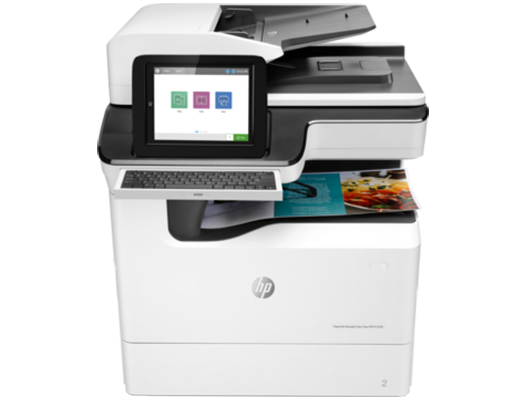 HP PageWide E77650dn - HP  pagewide photocopier, HP pagewide printer. HP photocopier, HP colour copier. Rent HP copier, rent HP printer, lease HP copier or lease HP printer service available