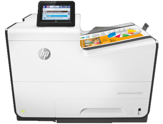 HP PageWide 556dn - HP  pagewide photocopiers, HP pagewide printers. HP photocopier, HP colour copier. Rent HP copier, rent HP printer, lease HP copier or lease HP printer service available