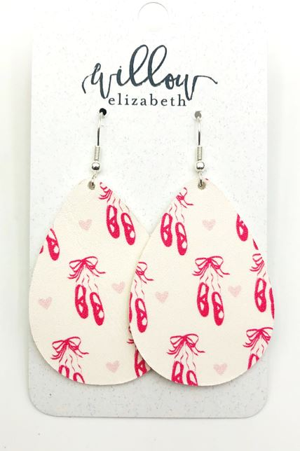 Ballerina - Calling all dancers!https://www.willowelizabeth.com/leather-earrings/new-ballerina