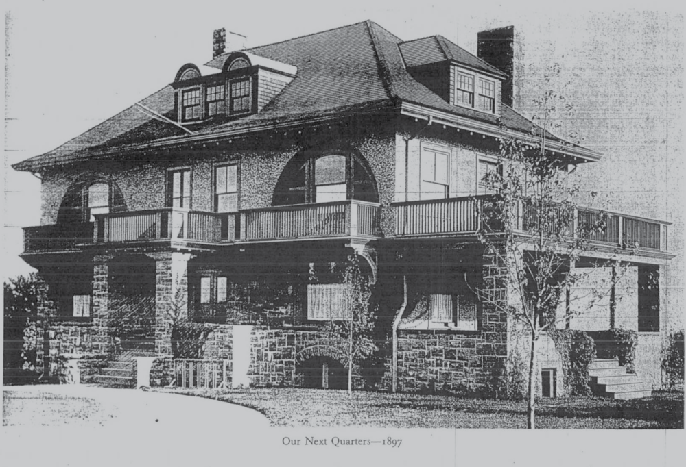 Clubhouse Number 2: The 1897 Clubhouse