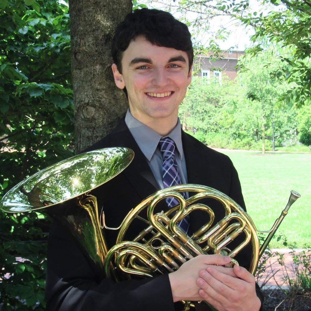 Senior Music Education Major on Horn