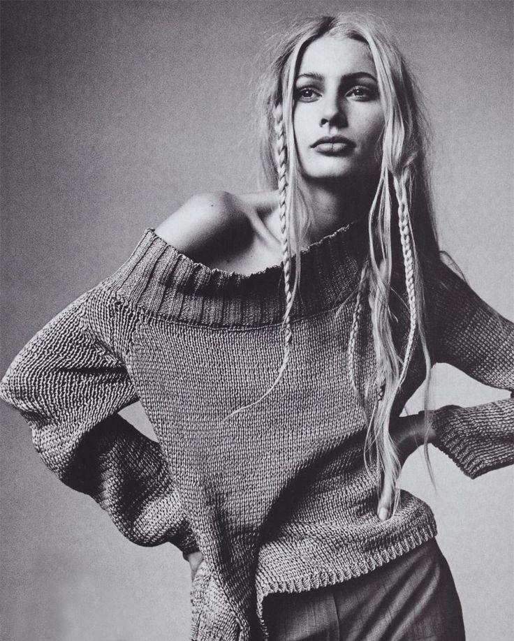 Those 90′s braids.   Image via: Vogue
