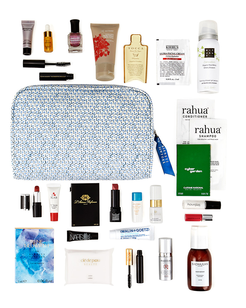 Here's a little midweek Pick-Me-Up and Make-Me-Pretty surprise: Today 2/12 through this Saturday 2/15 at Barney's - spend $250 on beauty and grooming (a surprisingly easy thing to do) and receive a LOVE YOURSELF gift bag filled with Barney's favorite things! [pictured above] Everyone can use a little self love…