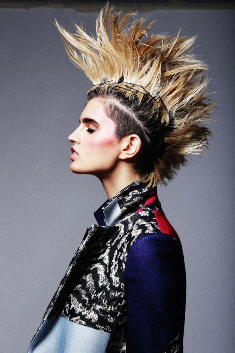 Make punk with pins Image: Fashion Gone Rogue