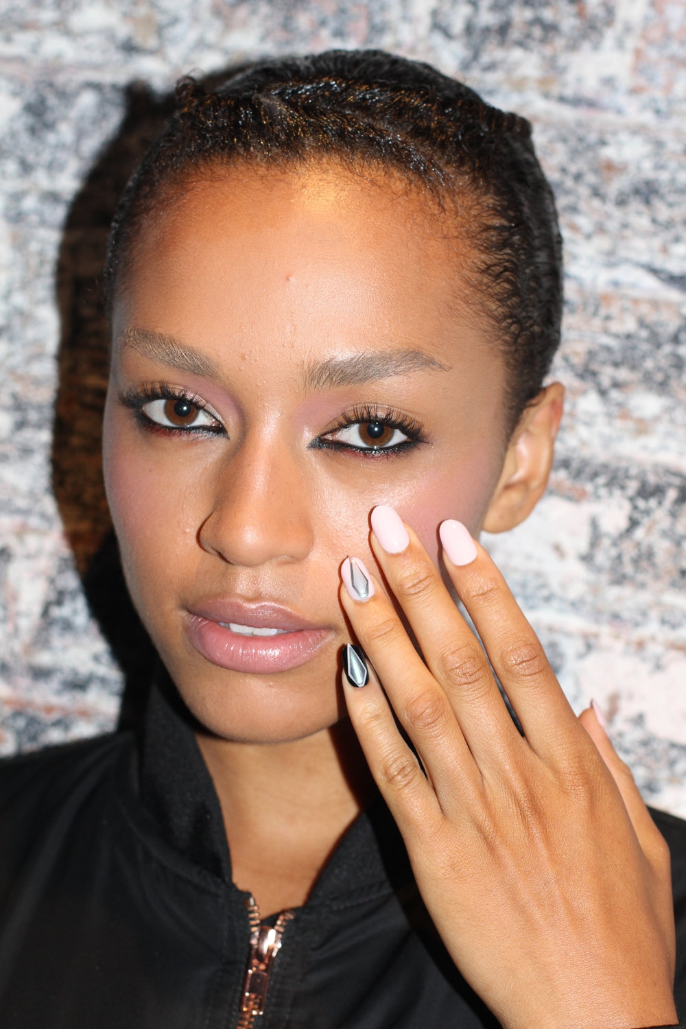 Backstage at  Katie Gallagher #NYFW    Make up by  MAC , nails by  imPRESS     Images c/o Rachel Scroggins ( The Greyest Ghost ) for Cult of Pretty