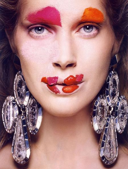 Beautiful mess.     Via: Vogue Italia