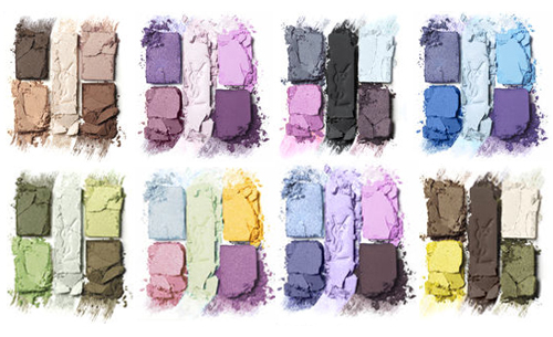 Resolution #3     Learn my way around (eye shadow) color!    I feel ashamed to admit this since I write a beauty blog/work in this biz, but I really can't do a nice blended eye with colors : ( I just haven't spent enough time playing.   Can you?     In any case, I lost my whole cosmetic bag (more on that some other day) so I have an excuse to rebuild my collection and this is what I'm getting:                         1.   YSL Ombres 5 in Midnight Garden   ($56.00) | 2.   Urban Decay Naked 2   ($50.00) | 3.   NYX Glitter Cream Pallet in Sweet Chocolate   ($5.99 - these are Buy 1 Get 1 50% off right now  helloooo )    Do you have any eye tutorials you love?   I watch a lot of   Sam Chapman/Real Techniques   … I think it's just a matter of practice.    Image: YSL shadows, created by me
