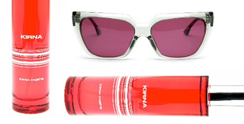 """Little bonus factor today: while pulling up  my all-time favorite cult summer fragrance  - the quite reasonably priced   Kirna by Kirna Zabête   - I found a  new cult sunglasses brand . So I'm sharing.  Hey, high quality UV sunnies are an important beauty tool to prevent aging in the eye area.     Does this : Smells like you just stepped out of an outdoor shower where you were spending a moment with a smoking hot guy who happened to be using a slightly citrus-y Italian bar soap. Or, """"Monet's water lilies on acid"""" - per the makers.  Is this :   Kirna by Kirna Zabête Eau de Toilette     Get this :  Here , or stop by the store in Soho at 96 Greene St. (amazing clothes)     Price : $65.00 for 1.7 fl oz   The shades are $150 (I think that's a pretty good price for shades that probably no one you know will have) by KBL, also at Kirna Zabête  here ."""