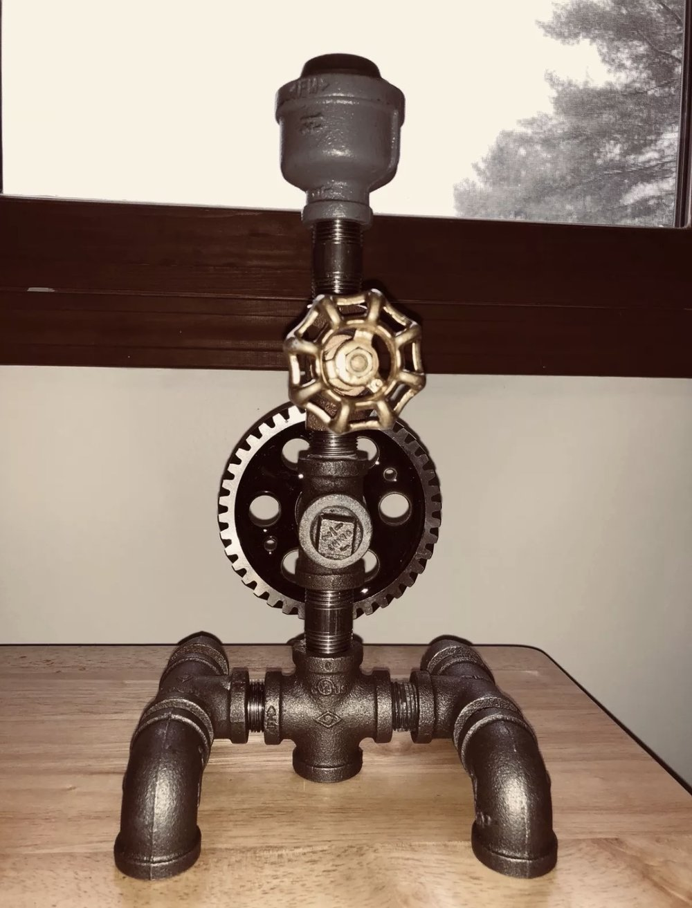 Gerry Conlon - Steampunk Lamps