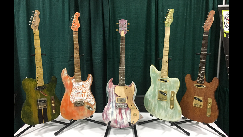 Uncle Fretster Guitars - Guitars that are either reclaimed and refurbished or built from scratch