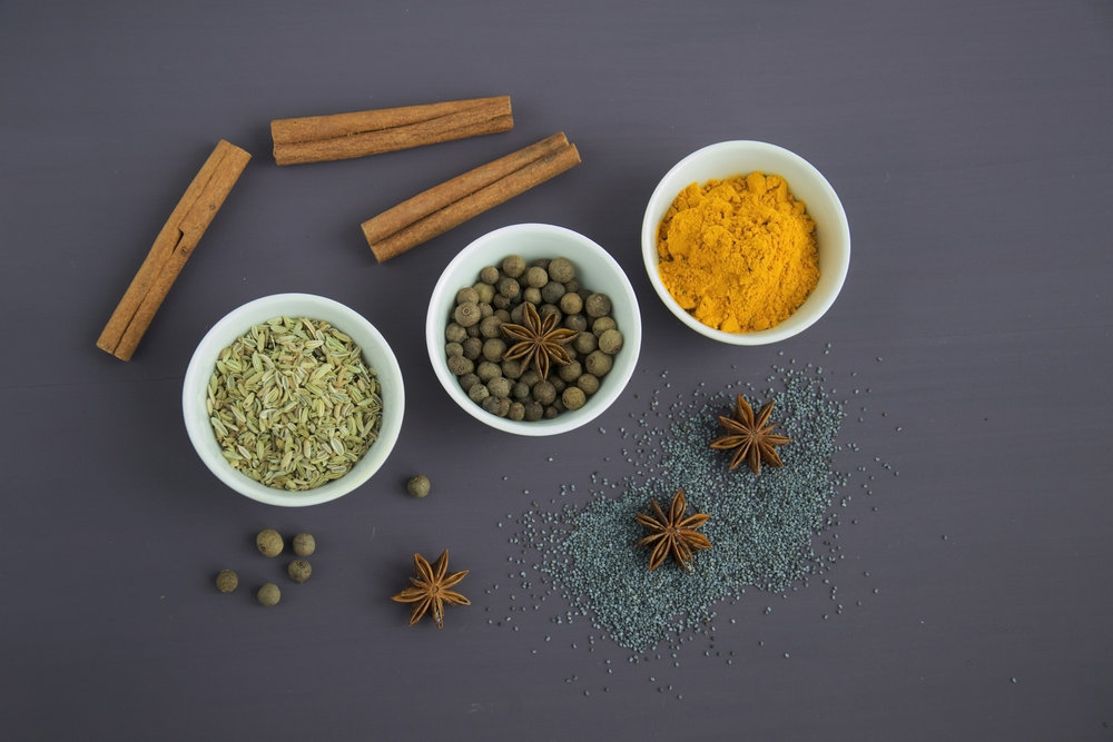 Photo by Mareefe from Pexels https://www.pexels.com/photo/assorted-spices-near-white-ceramic-bowls-678414/