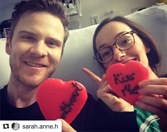 Valentines brought some discouraging news. Latest CT scan shows that my cancer has continued to advance on all fronts - colon, liver, lymph nodes. And now, we're told that there are tumours in my lungs. Meeting with Oncologist this morning to discuss next steps. #apurposehidden  #Repost @sarah.anne.h ・・・ @ryancorrey made room for me in his hospital bed for some #valentines love and snuggles ❤️