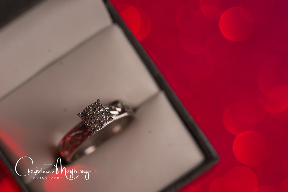 Wedding Ring #christianmayberryphotography