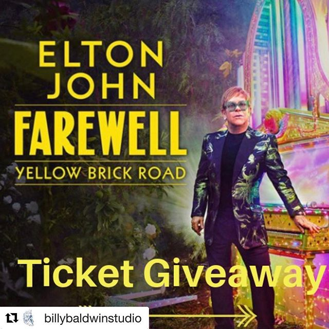 Head on over to @billybaldwinstudio to enter to win tickets to Elton John's upcoming show!!! ・・・ In the early '90s, we worked with @stantopolandassoc when he was decorating Elton John's Atlanta home. Mr. Topol, still a towering figure in the design world, spent the early summers of his career in New York assisting Billy Baldwin. We're still represented in Atlanta @travisandcompany and thought it would be neat to circle back with tickets to Elton's opening night show. Contest ends at 3:00pm EST Thursday 11/29.  Good luck!