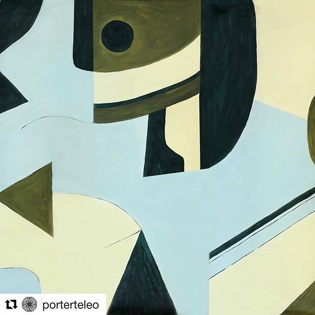 NEW Geo from @porterteleo ❣️ ・・・ It's that time of year again!! We are proud to introduce one of Porter Teleo's newest patterns: GEO 🎉 . An abstract composition of gracefully formed curves, fields of open space. Formal shapes and painted surfaces, this pattern calls forth the love of abstraction and fine art painting. Powerfully composed, and calling into focus how each shape correlated with the overall design, Geo reminds us of the art world's rich history of painting and surface quality. . Geo appears in three standard colorways: Prussian Blue, Pale Gold, and Burnt Sienna.
